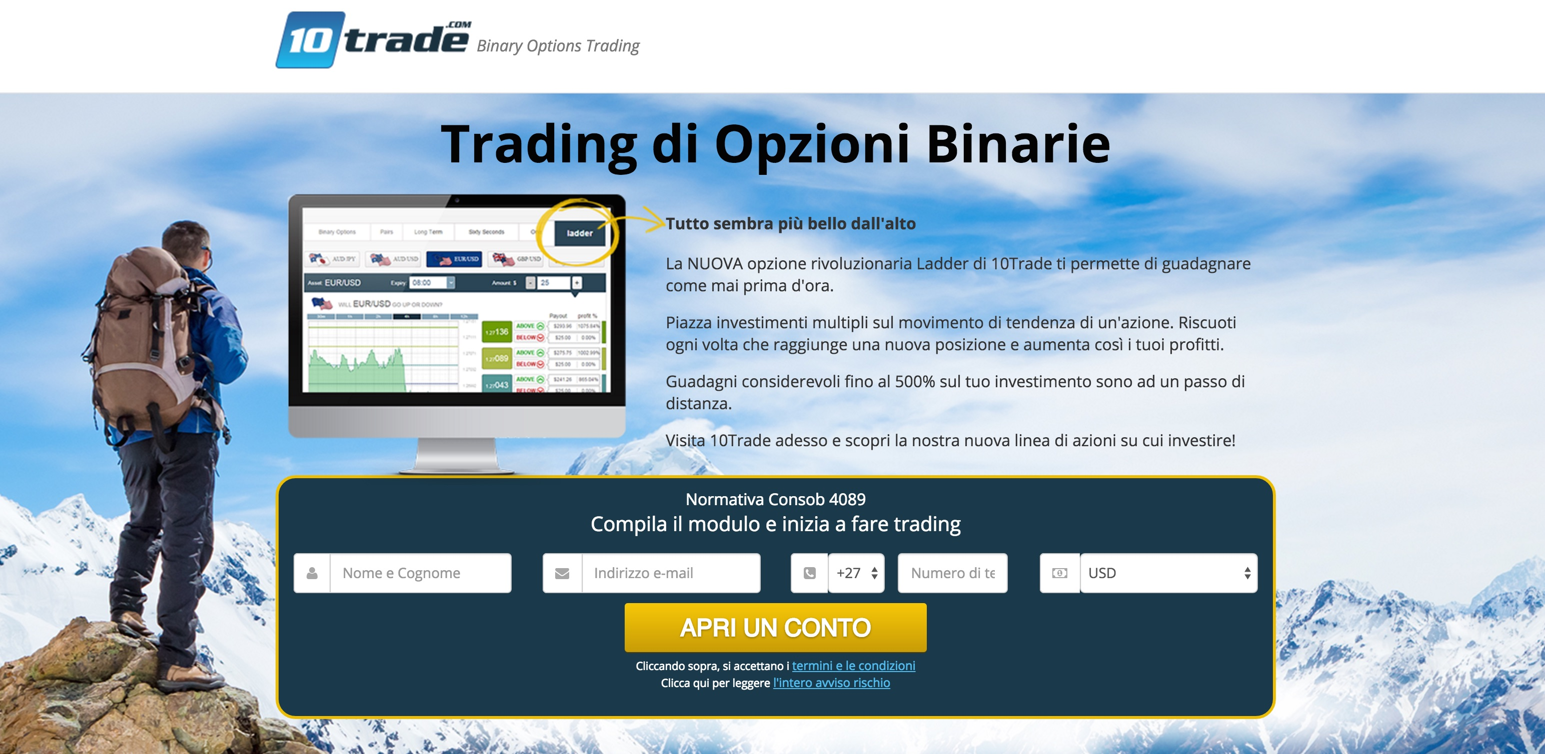 Binary option reviews